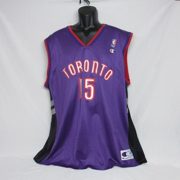 98babaf4c89 Champion Shirts   Vtg Toronto Raptors Vince Carter Jersey   Poshmark
